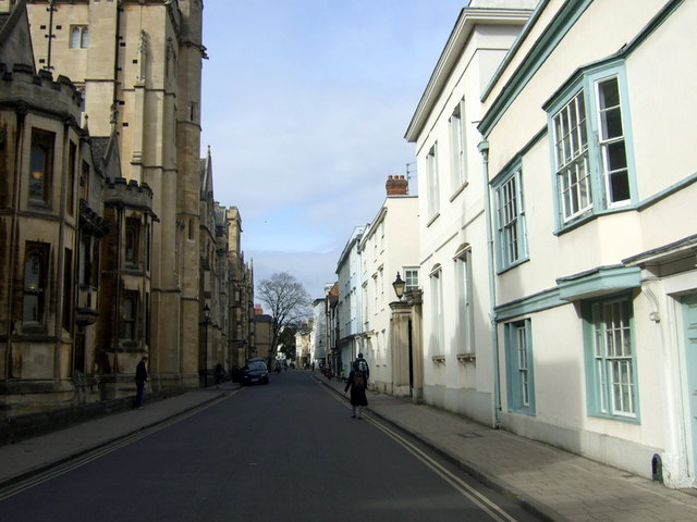 Holywell Street, looking west