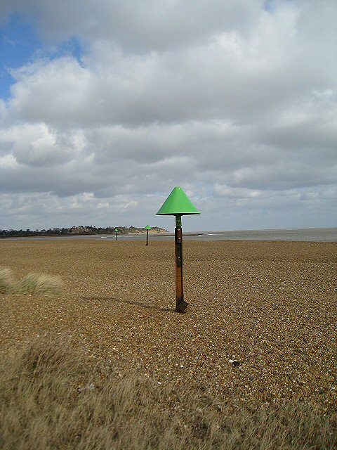 Navigation markers, Old Felixstowe