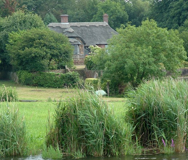 Thatched Cottage, Brick Kiln Reach, River Yare
