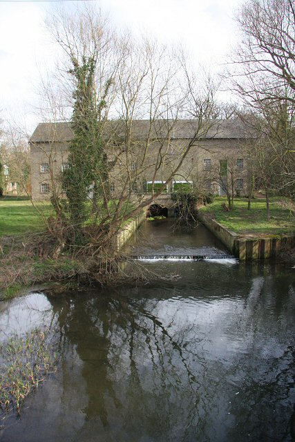 Reflections at Hauxton Mill