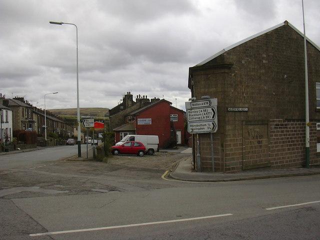 Bury Road, Bolton Road North Junction