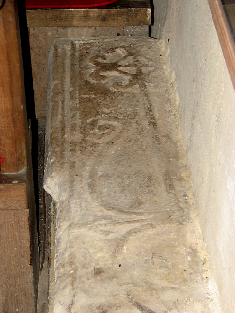 All Saints Church - C13 coffin slab