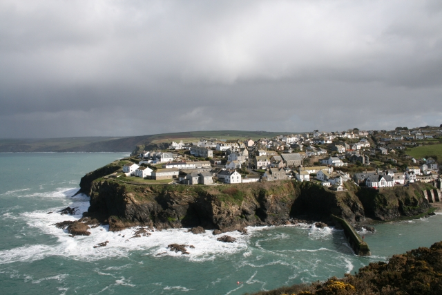 Port Isaac from Lobber Point