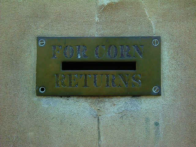 A memory of the corn laws