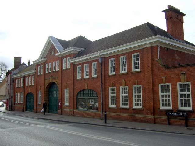 Morris garage, Longwall Street
