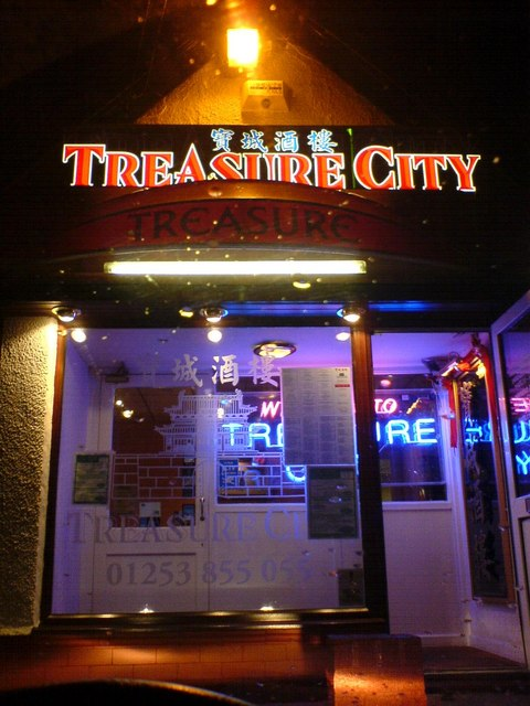 Treasure City Chinese restaurant