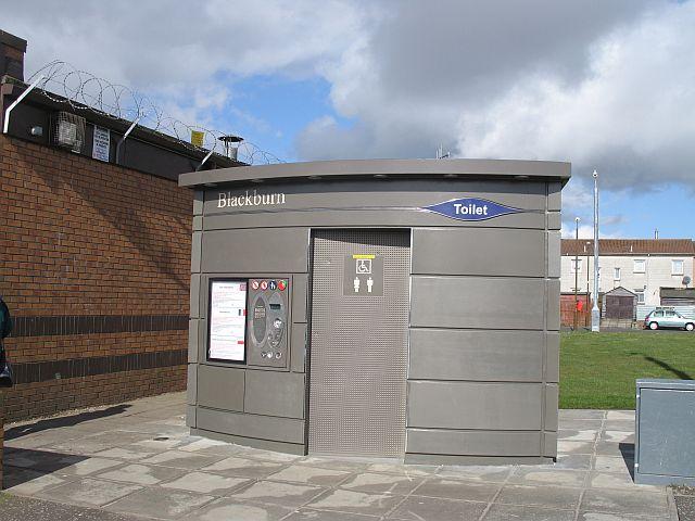 Toilet, Mill Centre, Blackburn