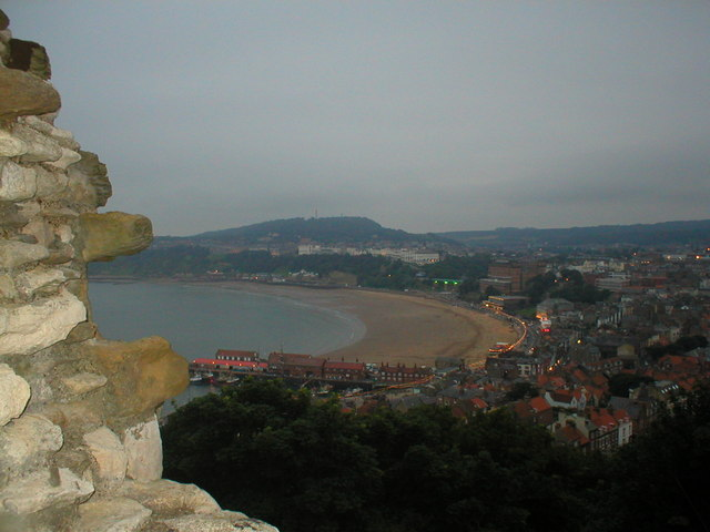 Scarborough from the castle walls
