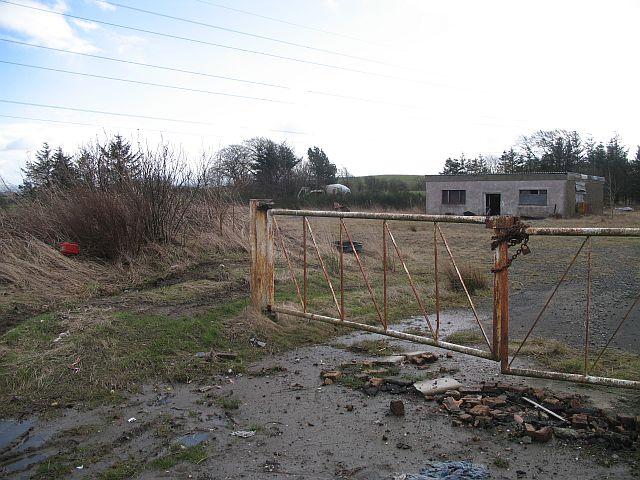 Derelict industrial site, Blackburn