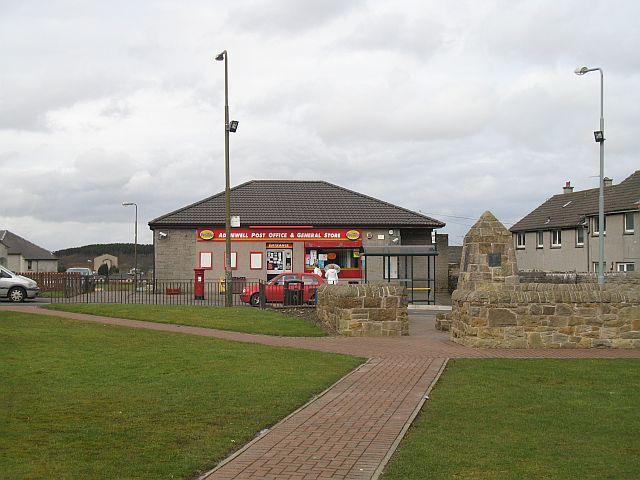 Addiewell post office