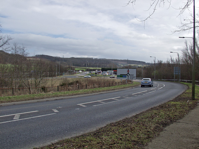 A63 South Cave intersection