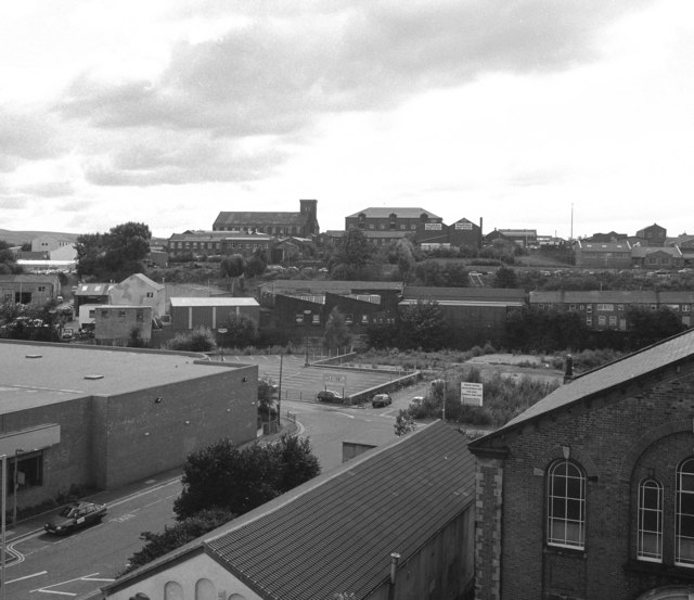 View towards Baron's warehouse, Rochdale