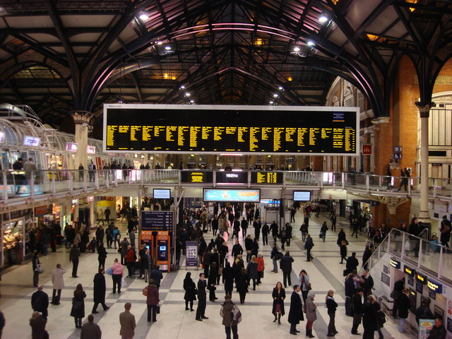 Concourse, Liverpool Street Station