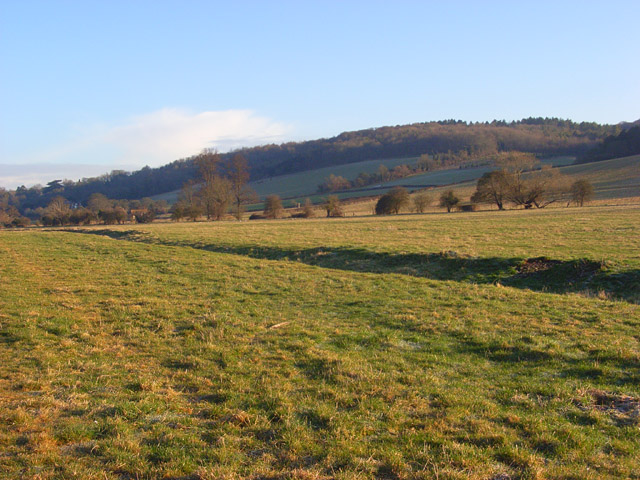 The Hambleden Valley near Mill End