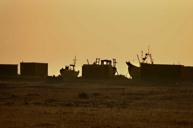 Fishing Boats & Sheds at Dungeness
