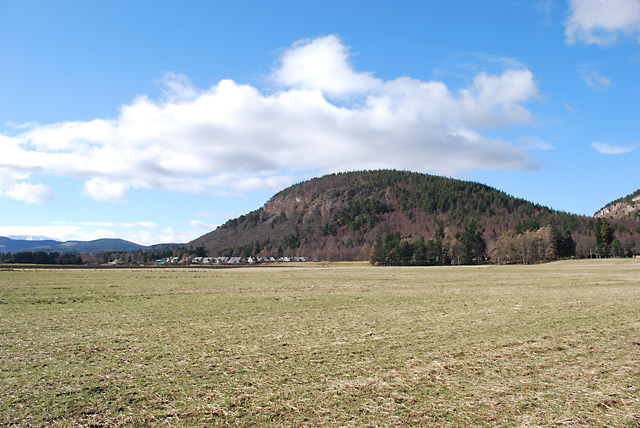 Fields below Craigendarroch
