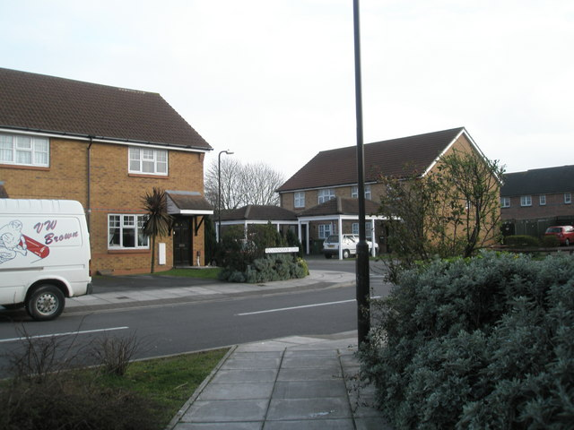Junction of Cunningham Close and Spinnaker Drive