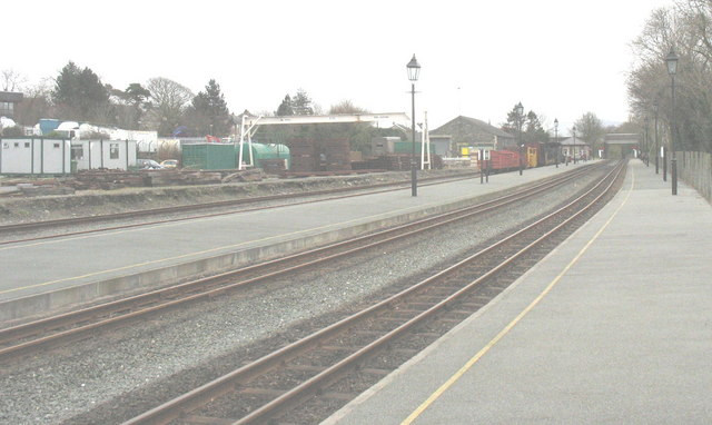 Dinas Station from the North