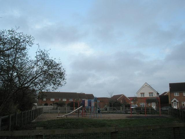 Children's play area near Spinnaker Drive