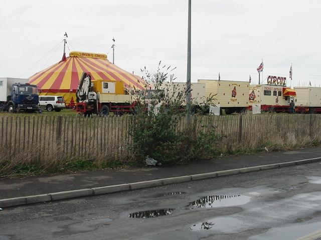 Small circus visits Ramsgate