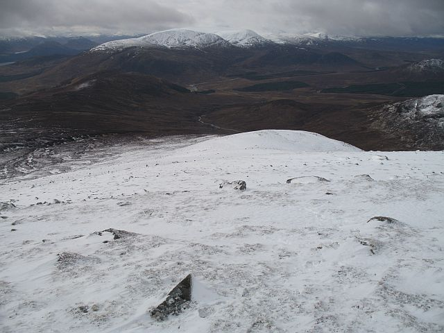 Southwest ridge of Geal Charn