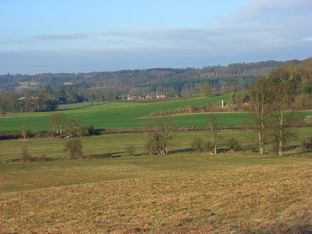 Hambleden Valley near Mill End