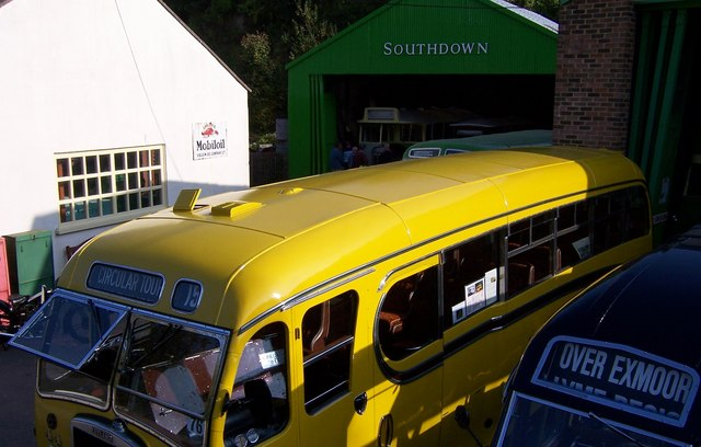 Preserved Buses-Amberley Working Museum