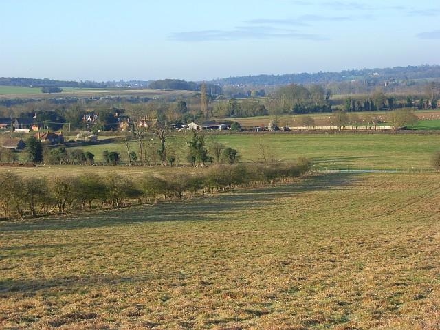 Hambleden Valley at Mill End