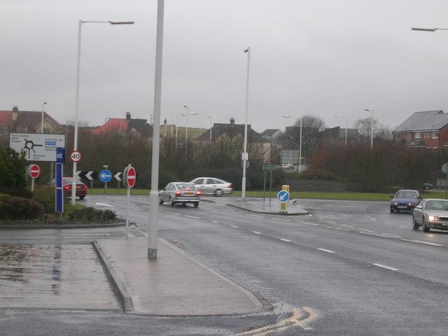 Western Bogily (Chapel) Roundabout, Kirkcaldy