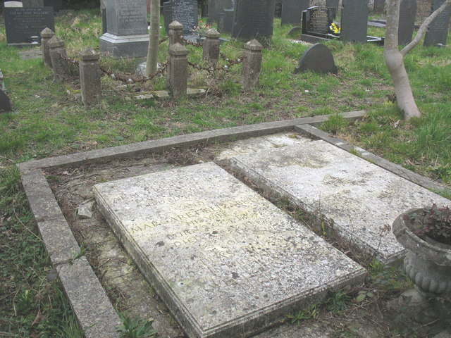 The Armstrong-Jones' grave