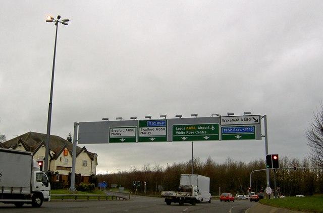 Tingley roundabout