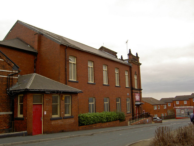 City Evangelical Church rear from Malvern Street