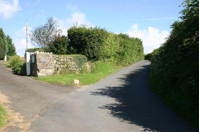 Barton House Entrance