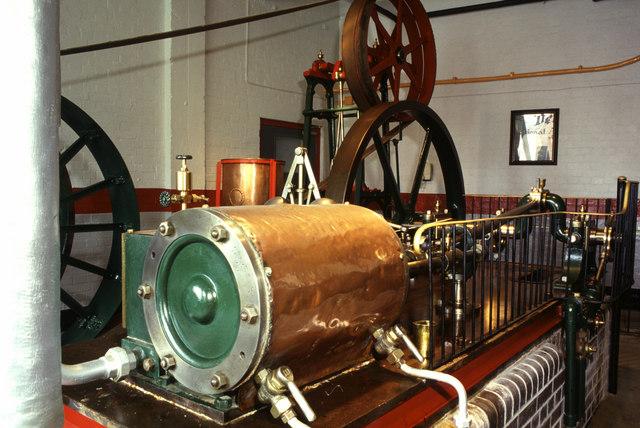 Steam engine, Devenish Weymouth Brewery