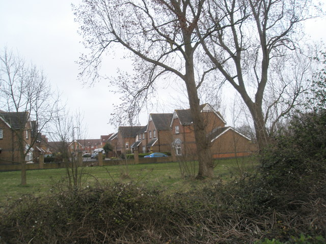 Rear of homes in Valiant Gardens, Hilsea