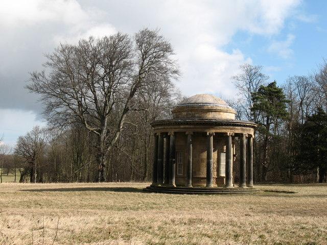 Ionic temple, Bramham Park