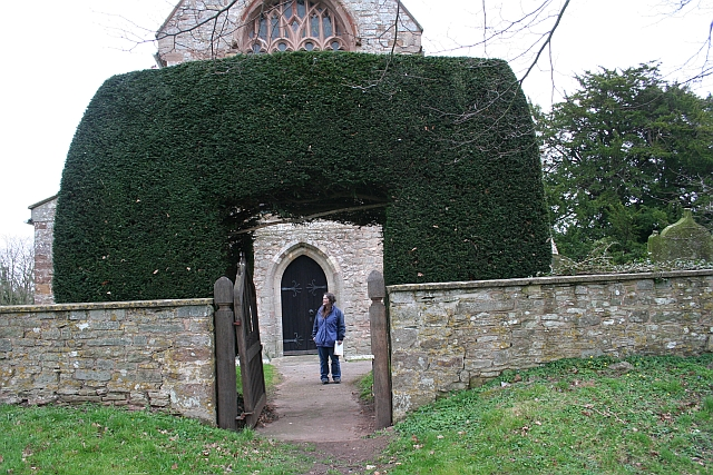 Yew Hedge Porch