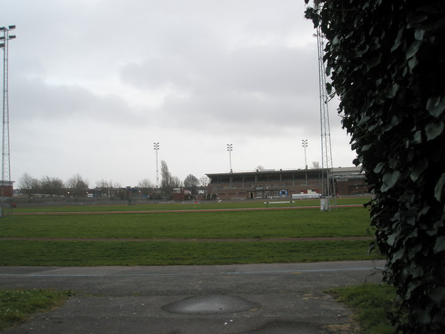 Alexandra Park Stadium as seen from north gate