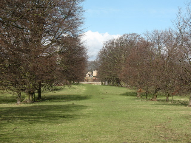 Formal avenue, Bramham Park