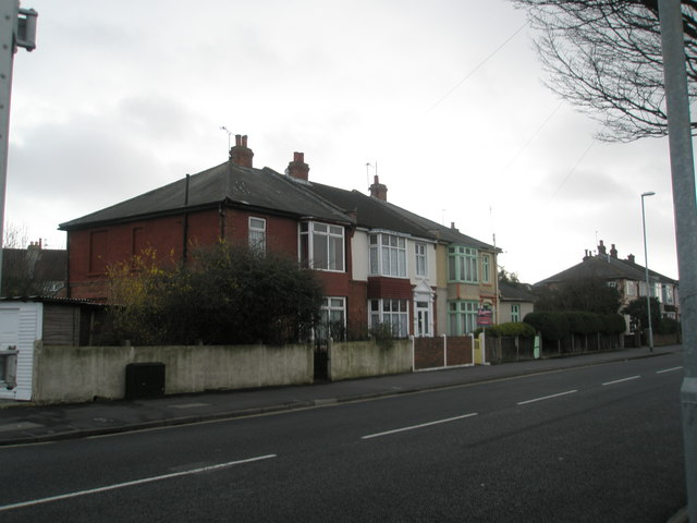 Houses in Northern Parade, Hilsea