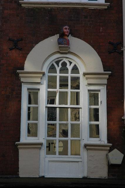 Window of 61 Broad Street, Worcester