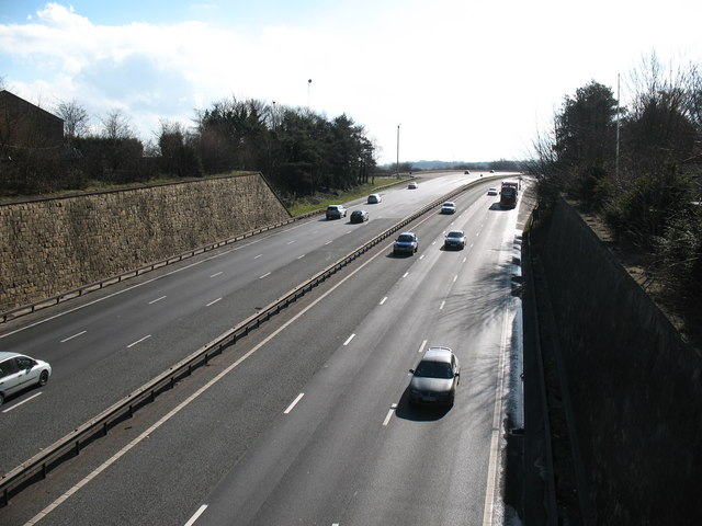 A1 - looking south