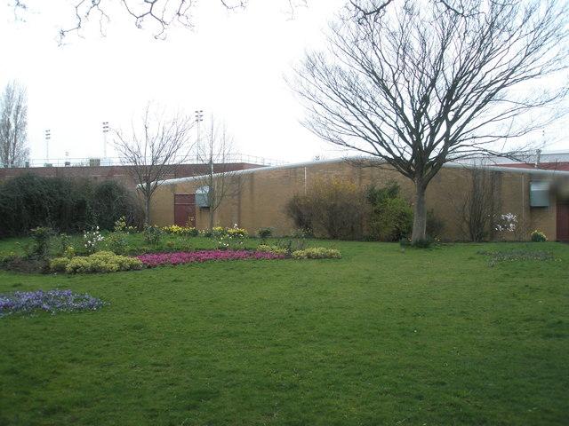 Gardens near bowling green at Alexandra Park