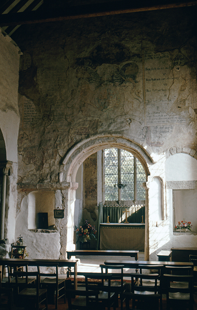 Church of St Martin, Wareham - Chancel arch