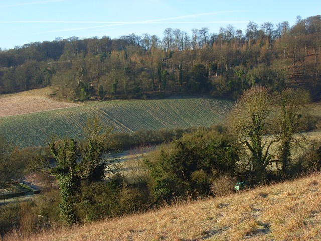 The Hambleden Valley above Colstrope