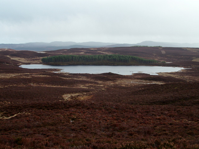 Loch na Ba from the NW