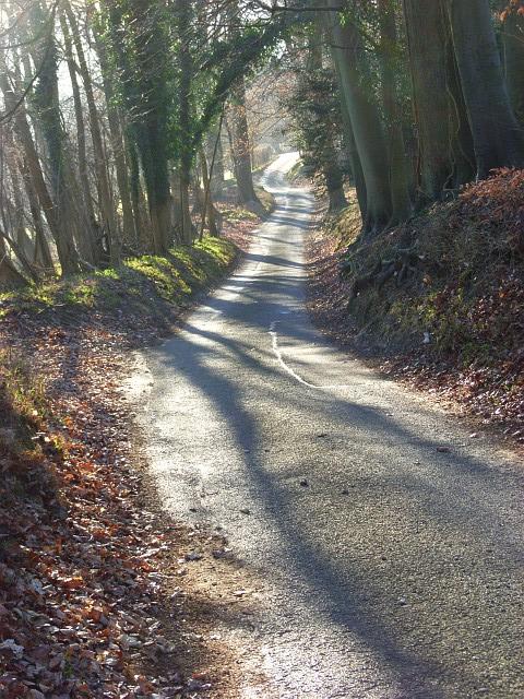 Dudley Lane above the Hambleden Valley