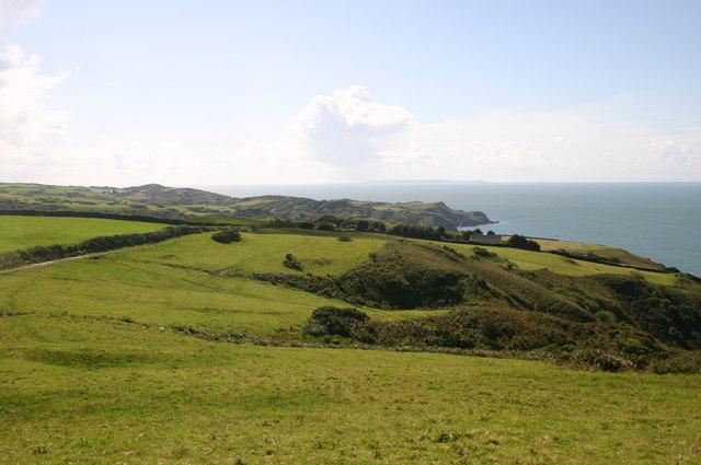 The SW Coast Path heading towards Lee