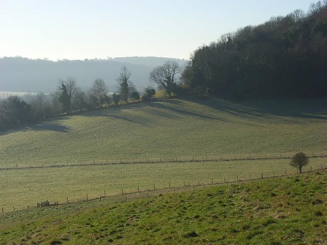 The Hambleden Valley near Skirmett