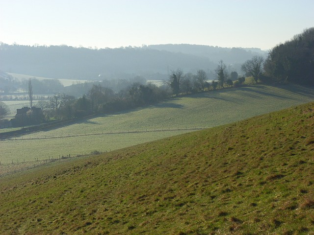 The Hambleden Valley near Skirmett